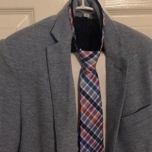 Boys Class Club knit blazer, with pants & tie